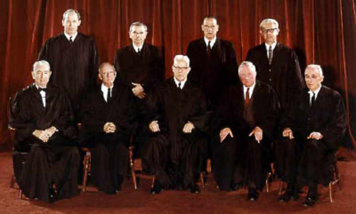 Supreme Court 1963 - Warren Court